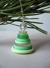 roots of simplicity stacked button tree ornaments
