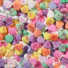 necco hearts necco sweethearts kingston candy bar