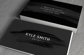 artist business card template vol3