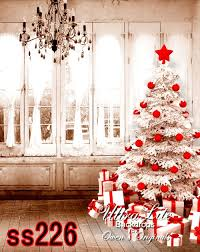 christmas photo backdrops photography backdrop christmas white tree decorations