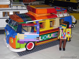 lego volkswagen t1 camper van at at heady days october 2012
