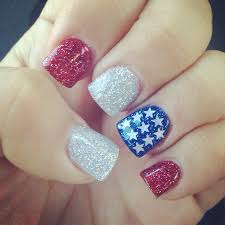 patriotic nail art for the 4th of july