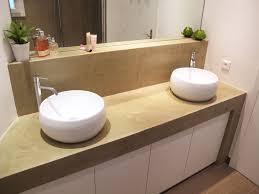 parquet pour salle de bain salle de bain béton ciré et carrelage parquet
