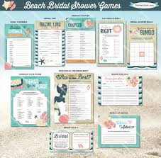 Words Of Wisdom Bridal Shower Game Beach Bridal Shower Games Printable Wedding Shower Game Blue