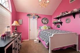 cool girls bed decoration ideas cool ideas with pink sheet platform bed and dark