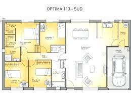 plan maison gratuit plain pied 3 chambres plan maison plain pied 3 chambres 120m2 1 psicologiaclinica info