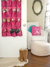 storage u0026 organization hanging pink shoe storage design ideas