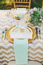 Pink And Gold Table Setting by 53 Best Mint Green Wedding Images On Pinterest Wedding Marriage