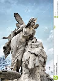 Angel Sculptures Heavenly Angel Sculpture Royalty Free Stock Photos Image 8427138