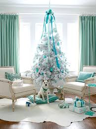 White Christmas Tree With Decorations by A Classic Green Tree With Red And Gold Trimmings Would Not Have