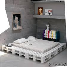 wohnideen schlafzimmer diy europaletten bett plattform kunstvolle einrichtung ideengeber