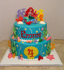 mermaid cakes mermaid 4th birthday cake cakecentral