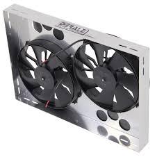 electric radiator fans and shrouds compare derale 26 vs derale 25 5 8 etrailer com