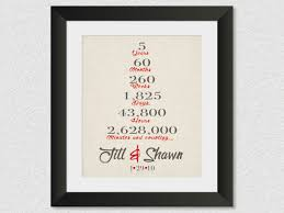 5 year anniversary gifts for husband 5 year anniversary gift five year wedding anniversary gift 1