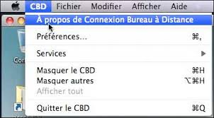 connexion bureau a distance mac connexion bureau à distance pour mac fonctionnalités