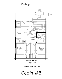 3 bedroom cabin floor plans archer s poudre river resort cabin 3