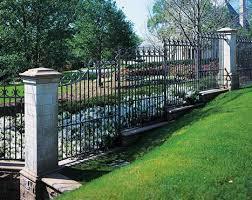 ornamental wrought iron fence styles decorative wrought iron