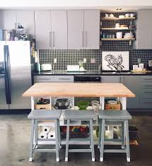 ikea kitchen cabinets on wheels ikea hack kitchen island diy for 200 apartment therapy