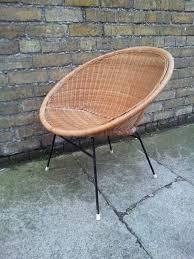 furniture wicker rattan chair