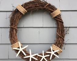 nautical wreath etsy