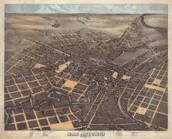 San Antonio Texas Map File Old Map San Antonio 1873 Jpg Wikimedia Commons