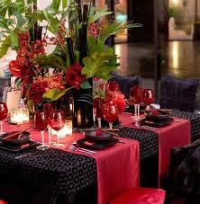 Table Decor For Weddings 57 Cheerful Tropical Wedding Table Settings Happywedd