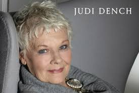 judi dench hairstyle front and back of head behind the scenes the life and cinema of dame judi dench book