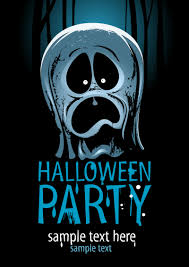 halloween ghost posters vector material halloween ghost poster