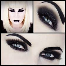 black u0026 white vamp makeup for halloween in slovenian youtube
