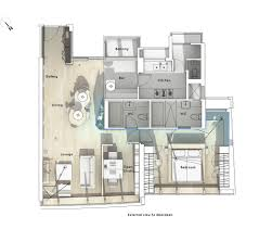 Craft Room Floor Plans Gallery Of Boathouse Home Office Bean Buro 10