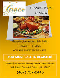 grace resource and center grace thanksgiving dinner 2016