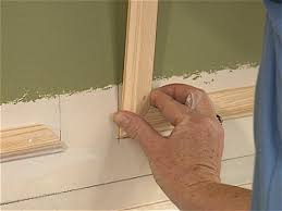 Dining Room Paneling How To Create Paneled Walls How Tos Diy