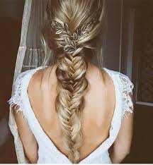 best 25 fishtail braid wedding ideas on pinterest fishtail