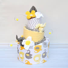 neutral elephant shower yellow and grey baby shower grey