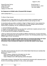 irs response letter template 28 images best photos of sle