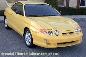 2001 hyundai tiburon specs hyundai tiburon car reviews