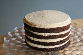 chocolate cake with salted caramel buttercream swellkid