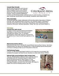 Colorado Mesa University Map by Mcinnis Canyons Nca 2016 Manager U0027s Report U2014 Latest News