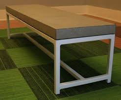 concrete table and benches price how to make a concrete table top with wood inlay table designs