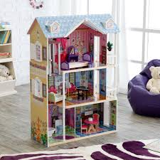 How To Make A Dollhouse Out Of A Bookcase Kidkraft Sparkle Mansion Modern Dollhouse 65826 Hayneedle