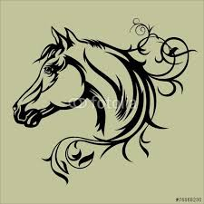 Horse Tattoo Ideas 203 Best Vectores Dibujos Images On Pinterest Drawings Crow