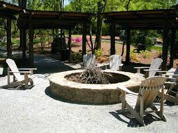 Gravel For Patio Base Articles With Pea Gravel Fire Pit Tag Terrific Gravel Fire Pit