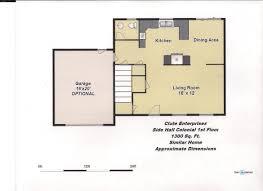 colonial floor plan updated colonial floor plan jpeg clute enterprises inc