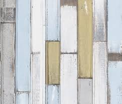 a natural wood paneling in a hand painted effect shown in pale