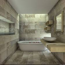 Natural Stone Bathroom Tile Stone Bathroom Floor Double White Bowl Sink Mix Stainless Steel