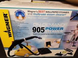 wagner 905 on demand power steamer 1500 watts wallpaper remover