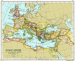 Rome On World Map Roman Empire Maps