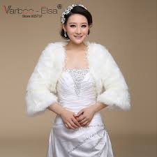 aliexpress com buy varboo elsa winter wrap coat ivory wedding
