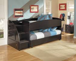 carriage bed for girls bedroom unfinished twin size ashley furniture trundle bed for