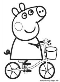 peppa pig coloring pages coloring pages peppa